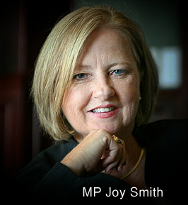 Conservative MP Joy Smith