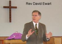 Rev. Dave Ewart of Capilano United Church